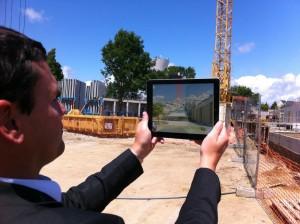 La réalité augmentée sur un chantier