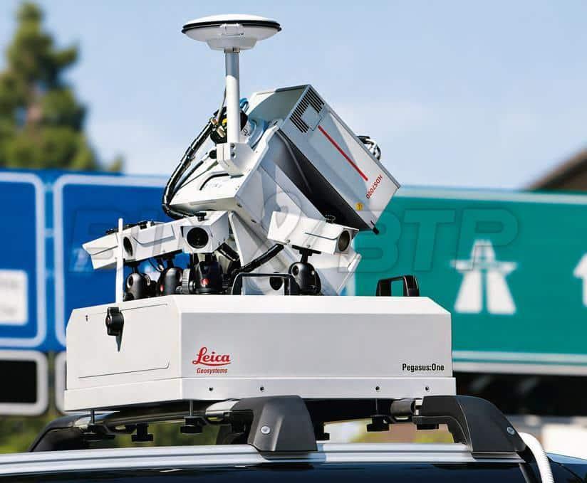 Un scanner 3D embarqué sur une voiture