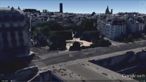 Vue 3D dans Google Earth