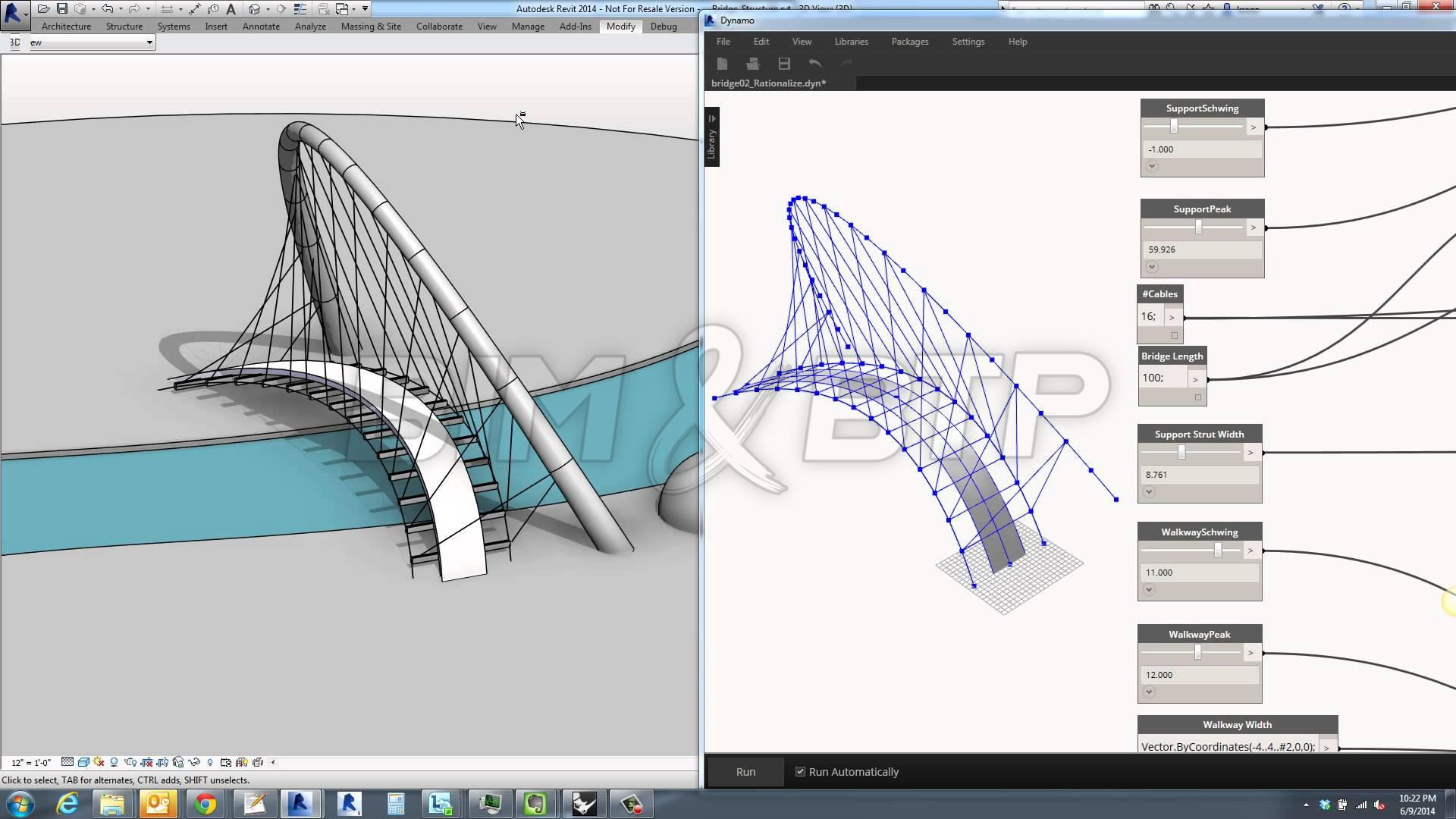 Revit et son plugin Dynamo
