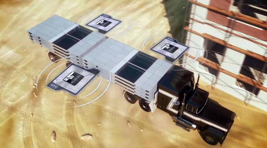 Matériels et matériaux équipés de puces RFID