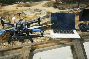 Un drone de chantier