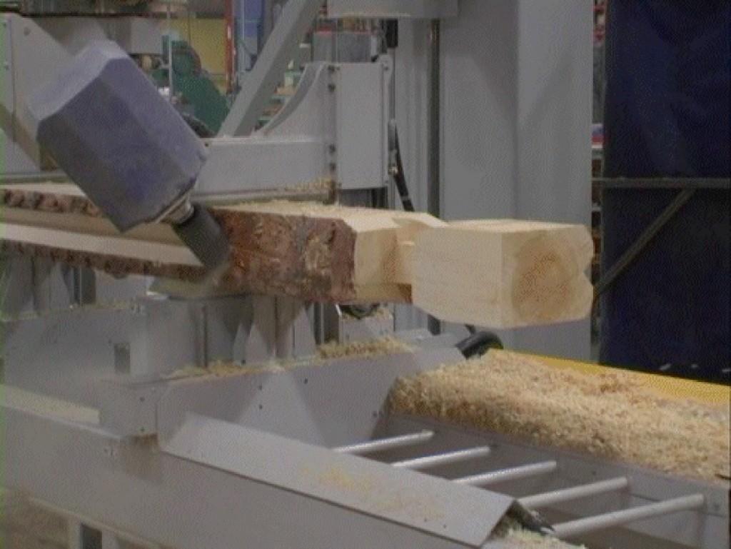 Une machine à bois à commande numérique