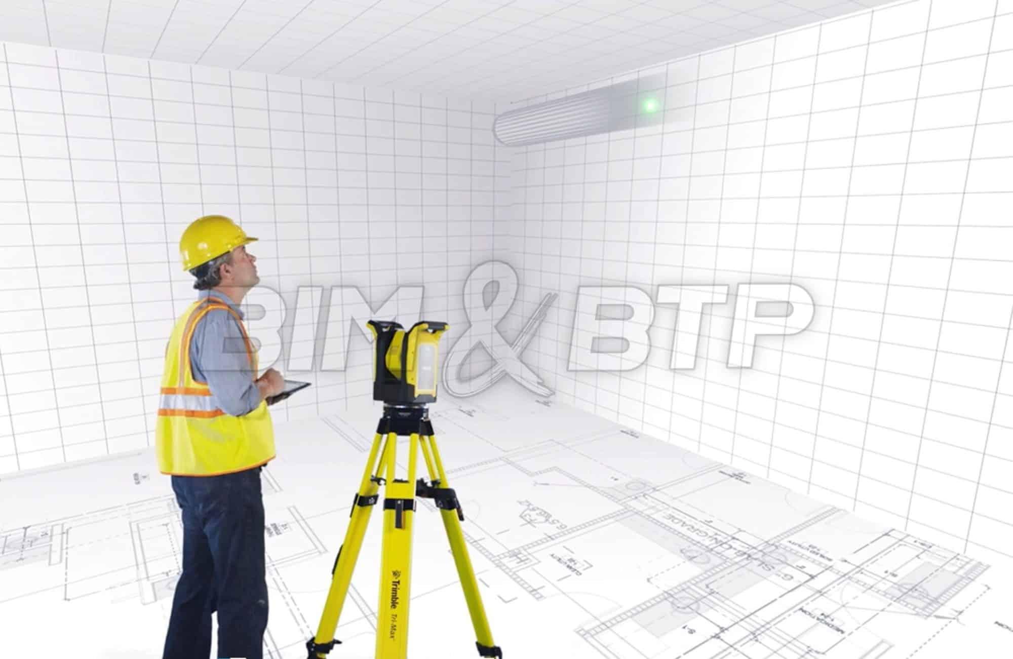 Implanter un ouvrage grâce à un pointeur laser géopositionné