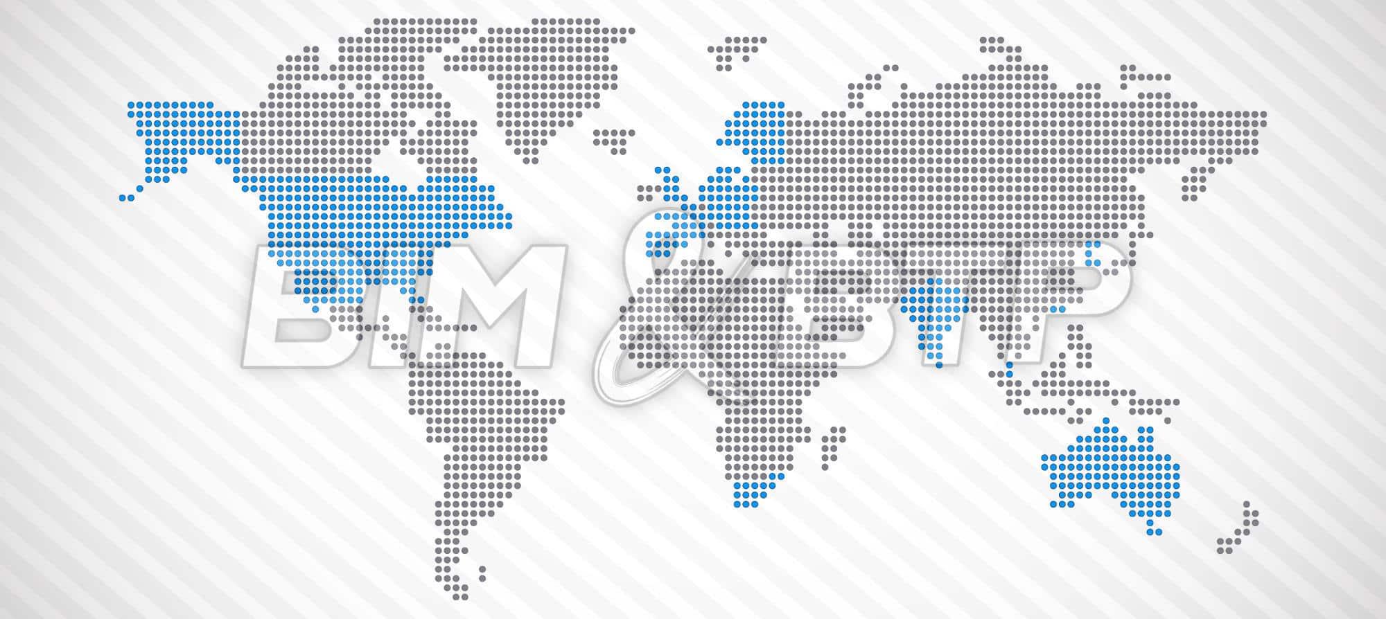 L'adoption du BIM dans le monde