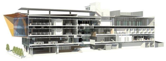 Une maquette numérique d'architecte
