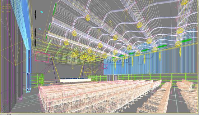 Conception d'un auditorium en 3D