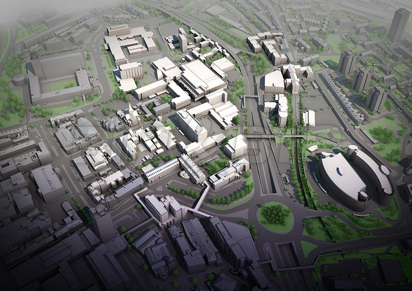 Une maquette numérique urbaine